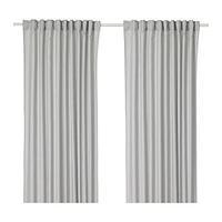 Шторы АННАЛУИЗА светло-серый 290x300 см ИКЕА, IKEA, фото 1