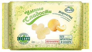 Безглютеновый Мармелад без сахара «Умные сладости» желейно-формовой «Дыня» 200г
