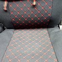 Накидки автомобильные из алькантара (компл.), фото 1