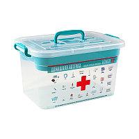 """""""Домашний доктор"""" контейнер для аптечки 6,5л с вкладышем арт. С80903 / 80903"""