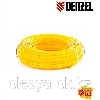 Леска для триммера круглая 2,4 мм х 15 м Denzel Россия