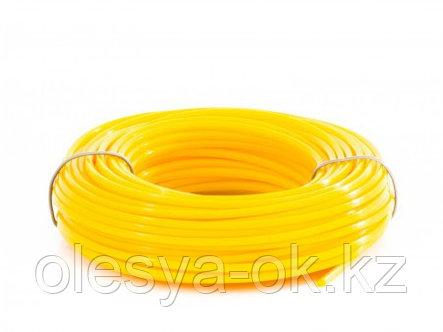 Леска для триммера круглая 2,4 мм х 15 м Denzel Россия, фото 2