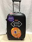 Средний из поликарбоната дорожный чемодан на 4-х колесах Ambassador (амбассадор, оригинал), фото 3