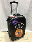Средний из поликарбоната дорожный чемодан на 4-х колесах Ambassador (амбассадор, оригинал), фото 5