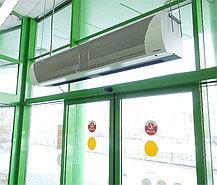 Воздушно-тепловая завеса Тепломаш КЭВ-18П4041E Комфорт (1,5 метровая; с электрическим нагревателем), фото 2