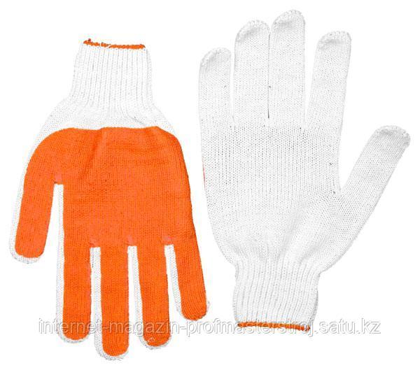 Перчатки трикотажные противоскользящие, размер S-M, серия MASTER, STAYER