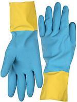 Перчатки латексные с неопреновым покрытием, размер L, STAYER