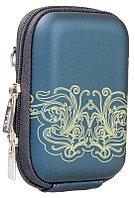 Чехол 7022PU (Dark blue moire) сумка для фотокамеры Riva