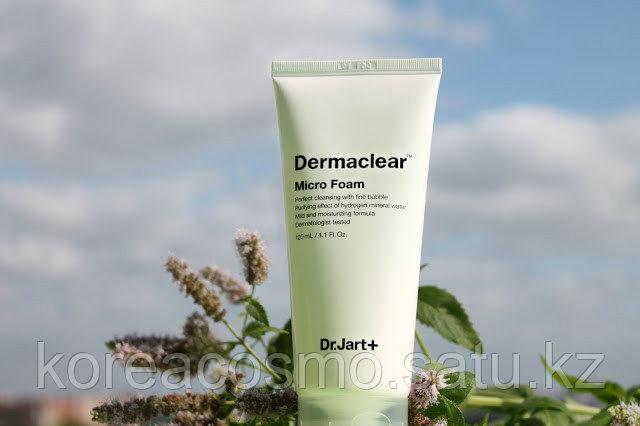 Dr. Jart+ Гипоаллергенная увлажняющая очищающая пенка для чувствительной кожи Dermaclear Micro Foam Vegan