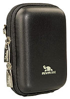 Сумка для фотоаппаратов Riva, чехол 7023 (PU) (Вlack leather)