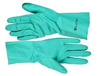 Перчатки нитриловые (размер XXL) с х/б напылением, KRAFTOOL