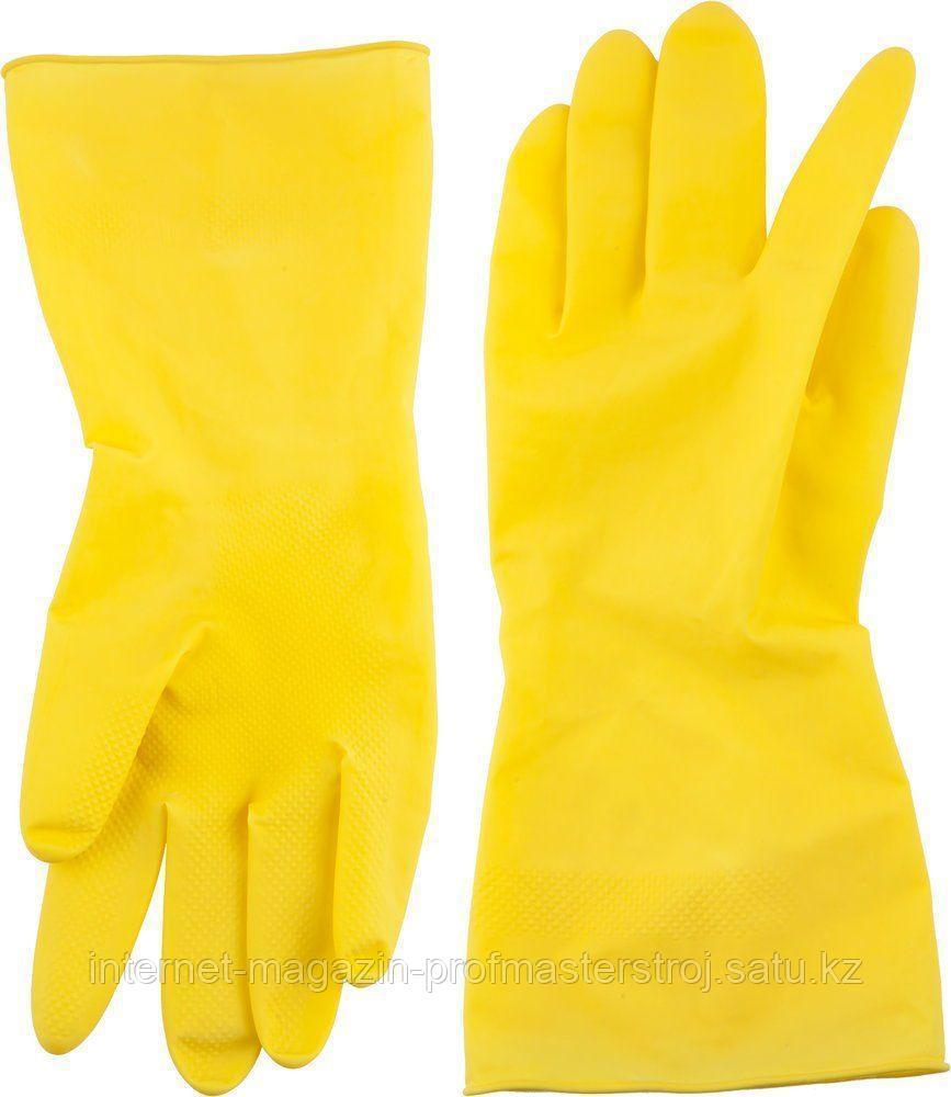 Перчатки латексные размер L, DEXX