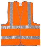 Жилет флуоресцентный, оранжевый, размер XL-XXL (52-54), серия MASTER, STAYER