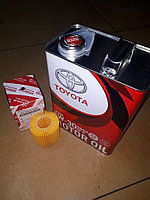 Оригинальное моторное масло TOYOTA CASTLE MOTOR OIL SN/CF 5W-30. 4литра