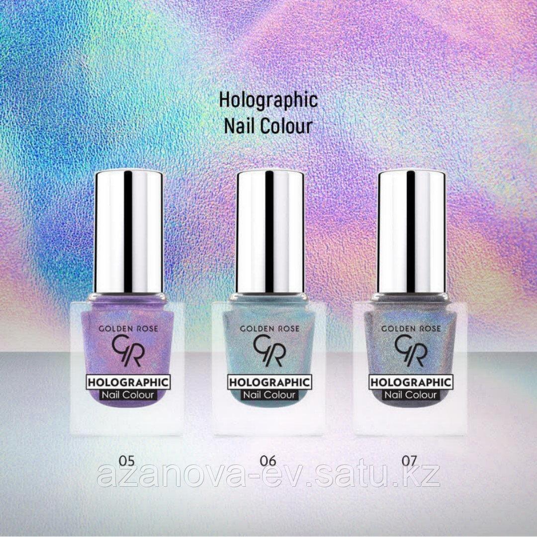 Лак для ногтей HOLOGRAPHIC Nail Color (10.5ml) - фото 3