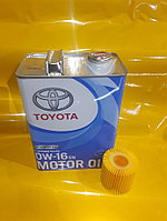 Синтетическое Моторное масло Toyota Motor OIL 0W16 4л 08880-11005