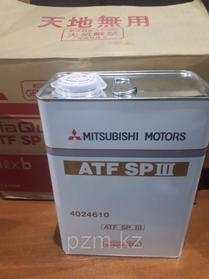 Трансмиссионное масло для АКПП MITSUBISHI-Diaqueen ATF SPIII 4литра