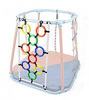 Модуль кольца лаз белый-радуга