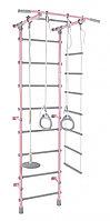 ДСК Pastel 1 розовый-серый