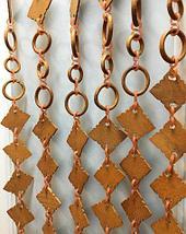 Занавески для дверного проема «Круглые кольца» (Светло-коричневый/белый/темно-коричневый), фото 3