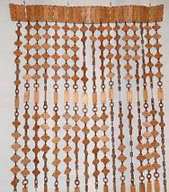 Занавески для дверного проема «Круглые кольца» (Темно-коричневый), фото 3