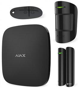 Комплект системы безопасности AJAX Starter Kit Plus (чёрный)
