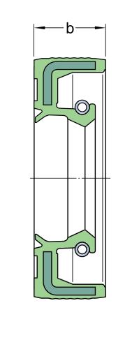 Не использовать54X72X10 HMSA7 R   Манжетное уплотнение SKF
