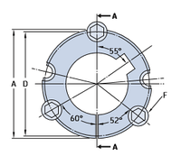 PHF TB4545X100MM коническая втулка SKF
