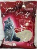 Lucky Cat, 10л, 8кг, без аромата Лаки Кэт комкующийся наполнитель для кошачьего туалета, фото 1