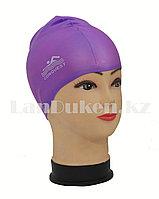 Силиконовая шапочка для плавания Conquest фиолетовая, фото 1