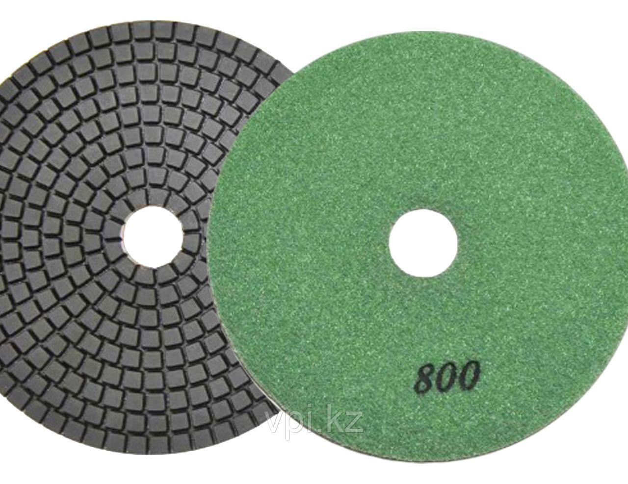Круг алмазный полировальный, гибкий P800, 100мм TOTAL TOOLS