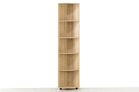 Шкаф стеллаж угловой приставной модульной системы Визит 1, Сосна Джексон, СВ Мебель (Россия), фото 2