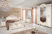 Комплект мебели для спальни Джулия 4К, Белая Эмаль, Форест Деко Групп(Беларусь)