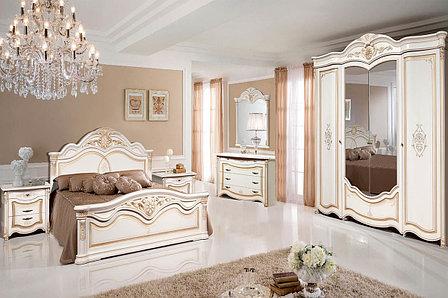 Комплект мебели для спальни Джулия 4К, Белая Эмаль, Форест Деко Групп(Беларусь), фото 2