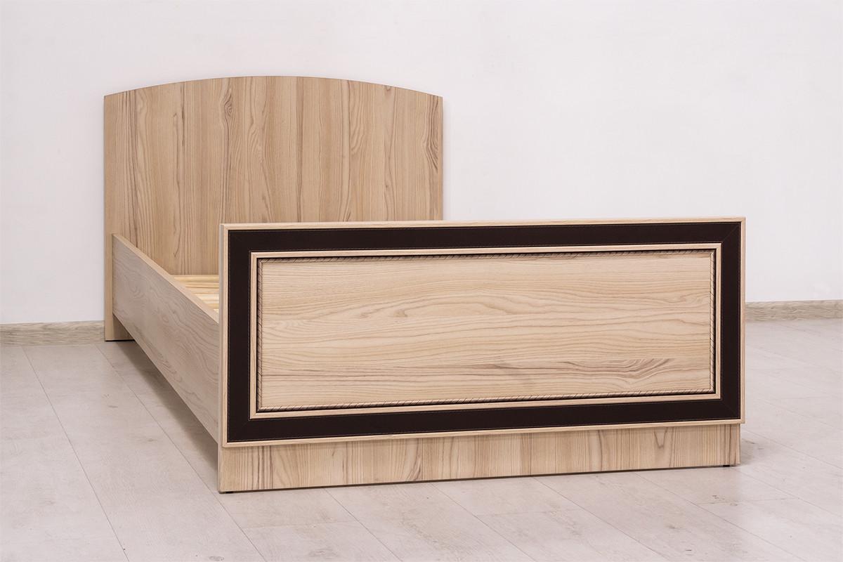 Кровать односпальная (90), коллекции Дисней, Дуб Светлый, MEBEL SERVICE (Украина)