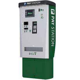Автоматический паркомат с купюро- и монетоприёмником GP4M BvCv