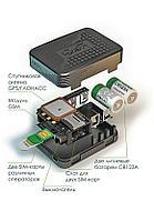 Универсальный GPS трекер, противоугонный маяк-закладка X-Keeper Invis DUOS