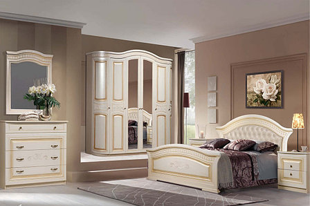 Комплект мебели для спальни Любава 6, Жемчуг, Форест Деко Групп(Беларусь), фото 2