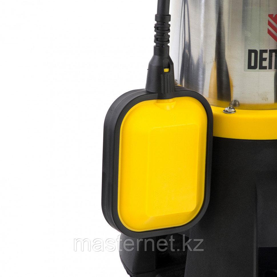 Дренажный насос DP1400X, 1400 Вт, подъем 11 м, 25000 л/ч, Denzel, 97228 - фото 1