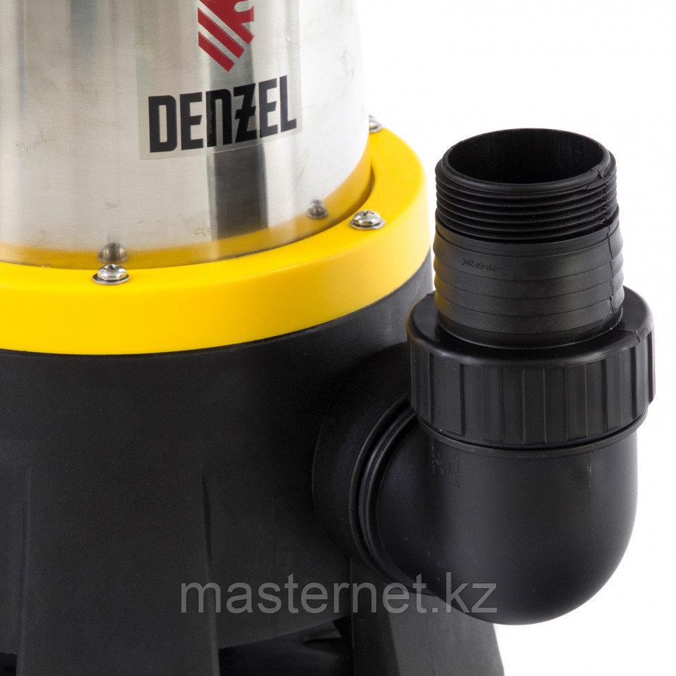 Дренажный насос DP1400X, 1400 Вт, подъем 11 м, 25000 л/ч, Denzel, 97228 - фото 5