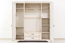 Шкаф для одежды 4Д  как часть комплекта Монако, Сосна Винтаж, Анрэкс (Беларусь), фото 3