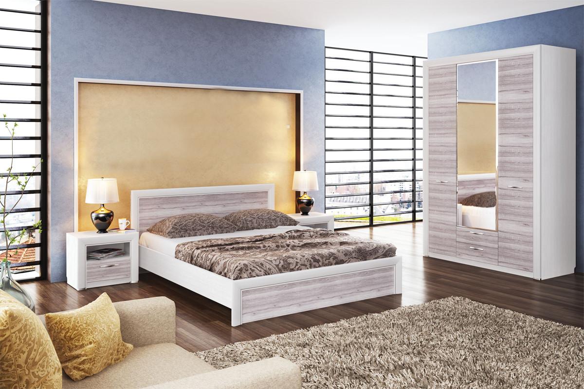 Комплект мебели для спальни Оливия, Дуб Анкона, Анрэкс(Беларусь)