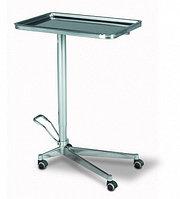 Стол для операционных инструментов (типа Гусь) 58. 550*350*750/1000