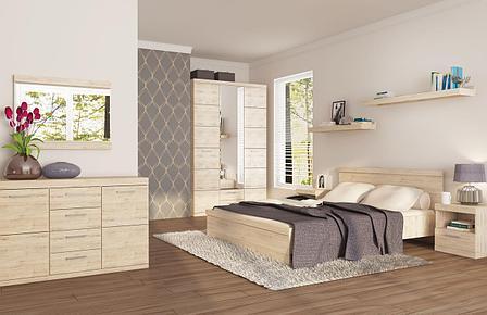 Комплект мебели для спальни Оскар, Дуб Санремо, Анрэкс(Беларусь), фото 2