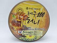 Гель для лица и тела Pax Moly Jeju 100 Honey Soothing Gel 300g. (Мед)