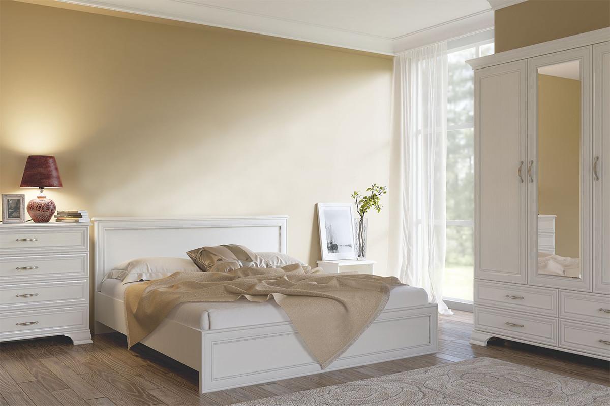 Комплект мебели для спальни Тиффани, Вудлайн Кремовый, Анрэкс(Беларусь)