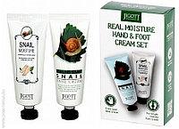 Набор кремов для рук и ног Jigott Real Moisture Hand & Foot Cream Set 100ml.x2