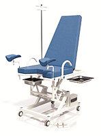 Кресло гинекологическое с механическим винтовым подъемником без колес