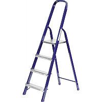 Лестница-стремянка , стальная, 4 ступени, 82 см, СИБИН