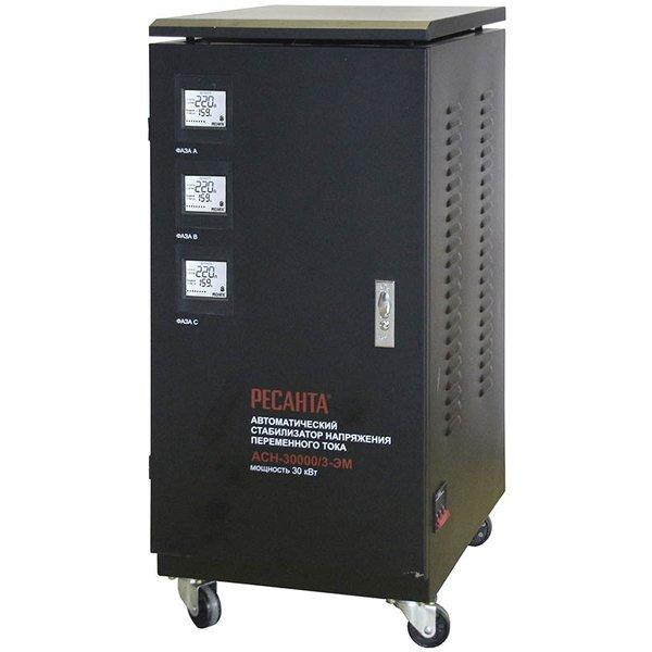 Стабилизатор напряжения  РЕСАНТА ACH-30000/3 ЭМ